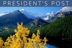 PRESIDENT'S POST: Fall Is In The Air