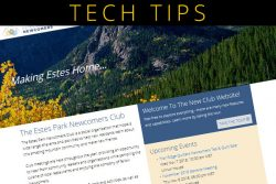 TECH TIP: Tips & Tricks With The New Website