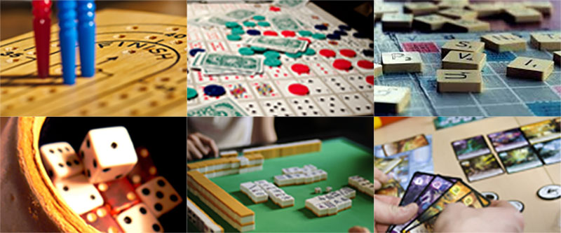 Board Games Collage